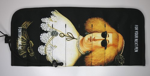 Rickshaw 10 pen hand roll Lady with Rayban / Prince of Orange edition