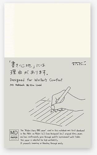 Midori B6 Notebook Slim ruled