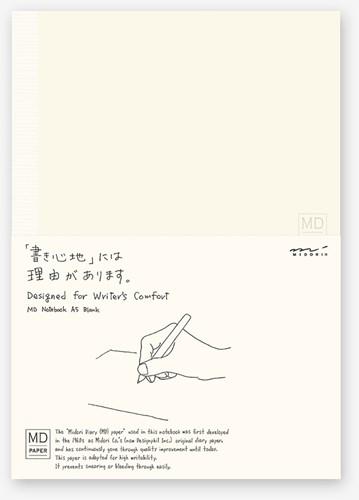 Midori A5 Notitieboek blanco