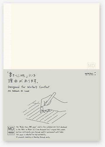 Midori A5 Notitieboek gelinieerd