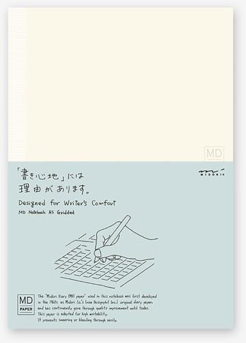 Midori A5 Notebook grid