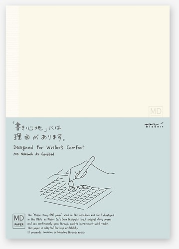 Midori A5 Notitieboek grid