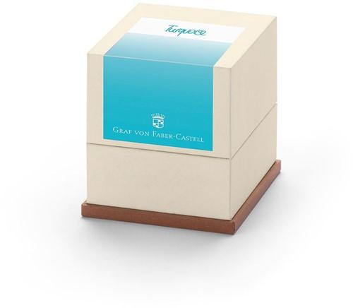 Graf von Faber Castell inkt cartridges turquoise 20 stuks