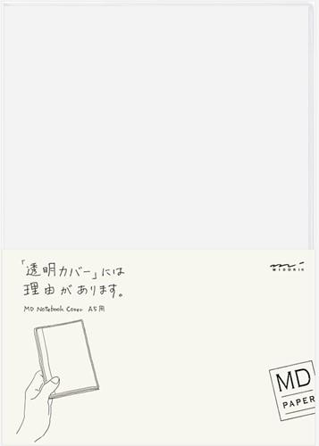 Midori A5 clear cover