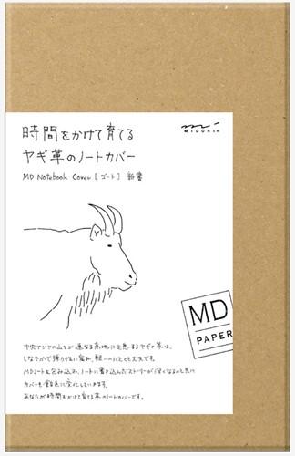 Midori B6 leren cover