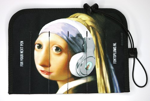 Rickshaw 6 pen hand roll Girl with headphones / Rayban edition