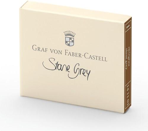 Graf von Faber Castell ink cartridges stone grey 6 pieces