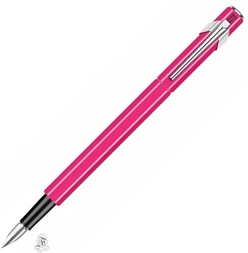 Caran d'Ache 849 fountain pen pink