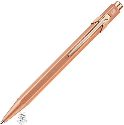 Caran d'Ache 849 Brut Rosé ballpoint  with pencase