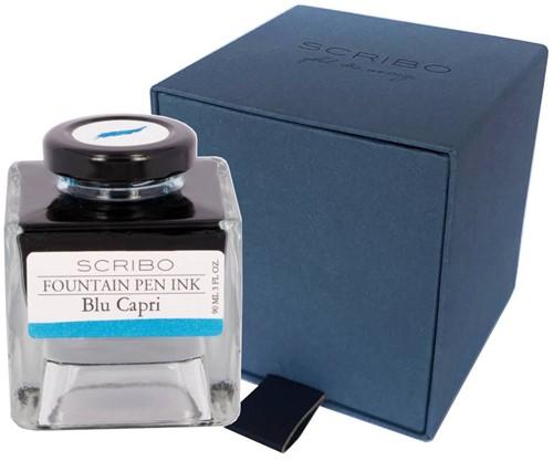 Scribo Blu Capri, ink 90ml