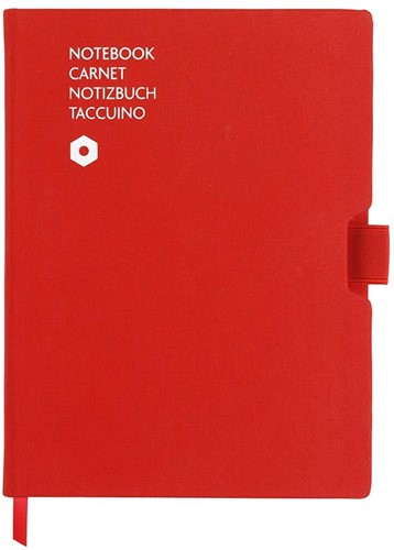 Caran d'Ache Notebook Office A5 Red canvas