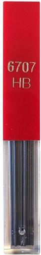Caran d'Ache grafiet stiften voor potlood 0,7mm HB 12 stuks
