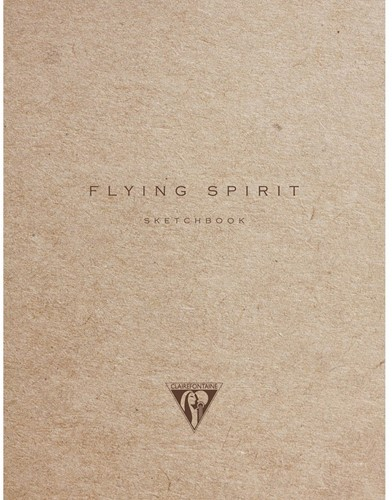 Clairefontaine Flying Spirit 148x105mm bruin schetsboek