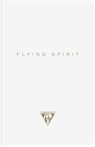Clairefontaine Flying Spirit 9x14cm wit notitieboekje