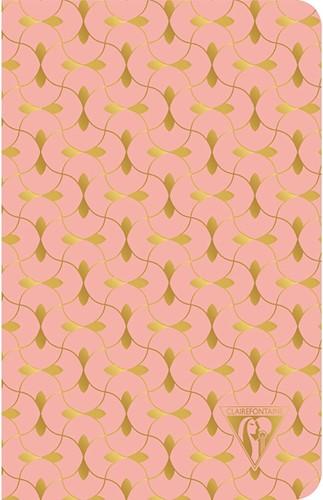 Clairefontaine Neo Deco Summer Coral 11x17cm notitieboekje