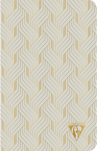 Clairefontaine Neo Deco Summer Pearl Grey 11x17cm