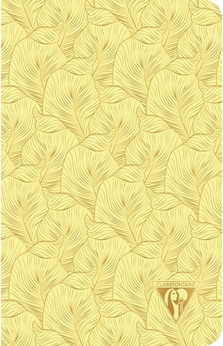 Clairefontaine Neo Deco Summer Tropical Yellow 11x17cm