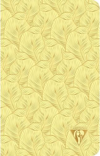 Clairefontaine Neo Deco Summer Tropisch Geel 11x17cm notitieboekje