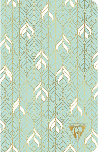 Clairefontaine Neo Deco Summer Water Groen 11x17cm notitieboekje