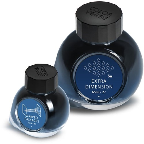 Colorverse Ink bottle Extra Dimension & Warped Passages 65 + 15ml