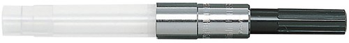 Sailor converter for fountain pen with silver color trim