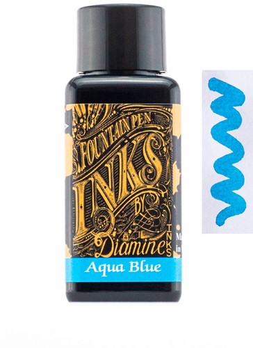 Diamine Aqua Blue ink 30ml