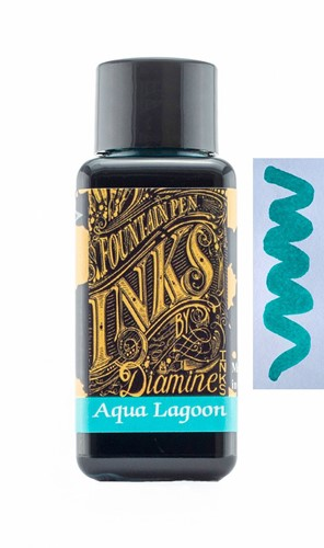 Diamine Aqua Lagoon ink 30ml