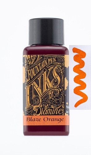 Diamine Blaze Orange ink 30ml