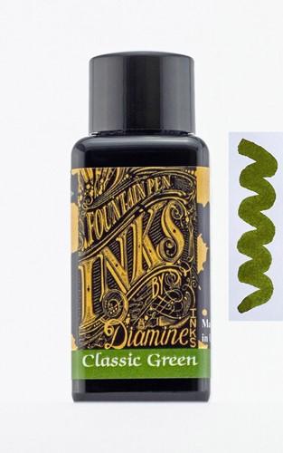 Diamine Classic Green inkt 30ml