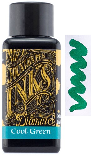 Diamine Cool Green inkt 30ml