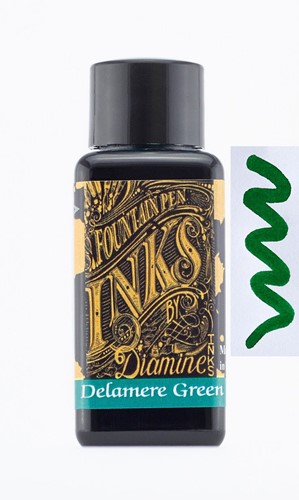 Diamine Delamere Green ink 30ml