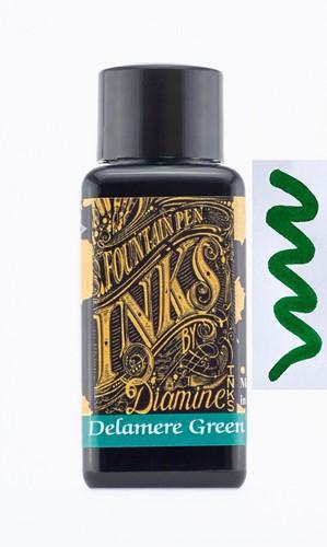 Diamine Delamere Green inkt 30ml
