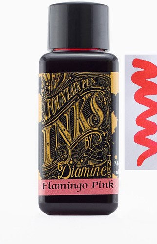 Diamine Flamingo Pink ink 30ml