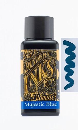 Diamine Majestic Blue inkt 30ml