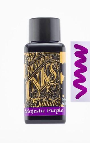 Diamine Majestic Purple ink 30ml