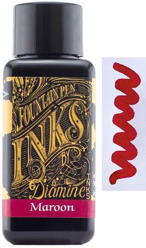 Diamine Maroon inkt 30ml