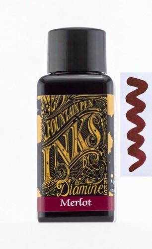 Diamine Merlot inkt 30ml