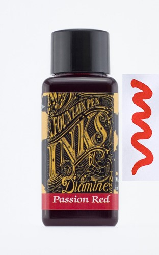 Diamine Passion Red ink 30ml