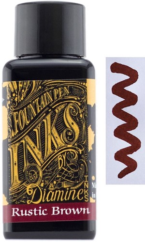 Diamine Rustic Brown inkt 30ml
