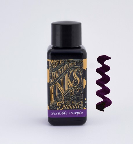 Diamine Scribble Purple ink 30ml