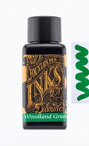 Diamine Woodland Green ink 30ml