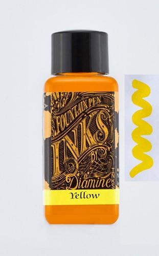 Diamine Yellow inkt 30ml