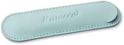 Kaweco Sport voor 1 pen lederen etui mint