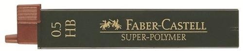 Faber Castell Graphite leads 0,5mm HB, 12 pieces