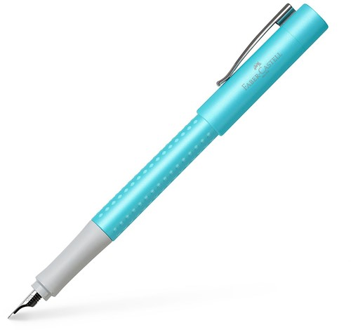 Faber Castell Grip Pearl Turquoise fountain pen