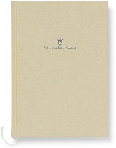 Graf von Faber Castell A5 Notitieboek goud bruin