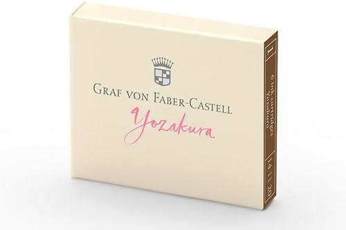 Graf von Faber Castell inkt cartridges Yozakura 6 stuks