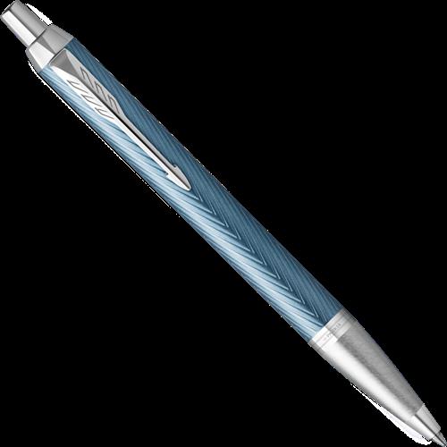 Parker IM Premium Blue Grey ballpoint pen