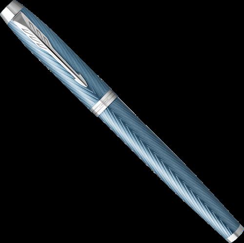 Parker IM Premium Blauw Grijs vulpen