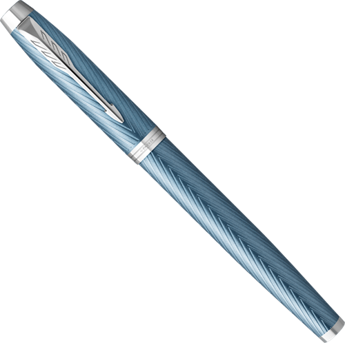 Parker IM Premium Blue Grey fountain pen